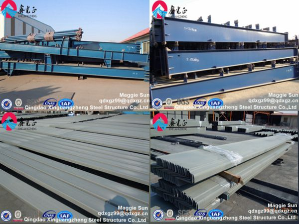 Steel storage factory warehouse structure plants