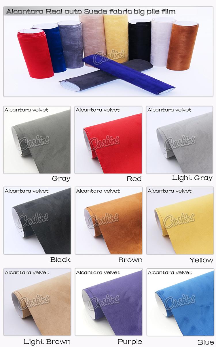 Car interior material - 100 Fabrics Vinyl Wrap Grey Color For Car Interior Beautify Vinyl Film 1 35 15m