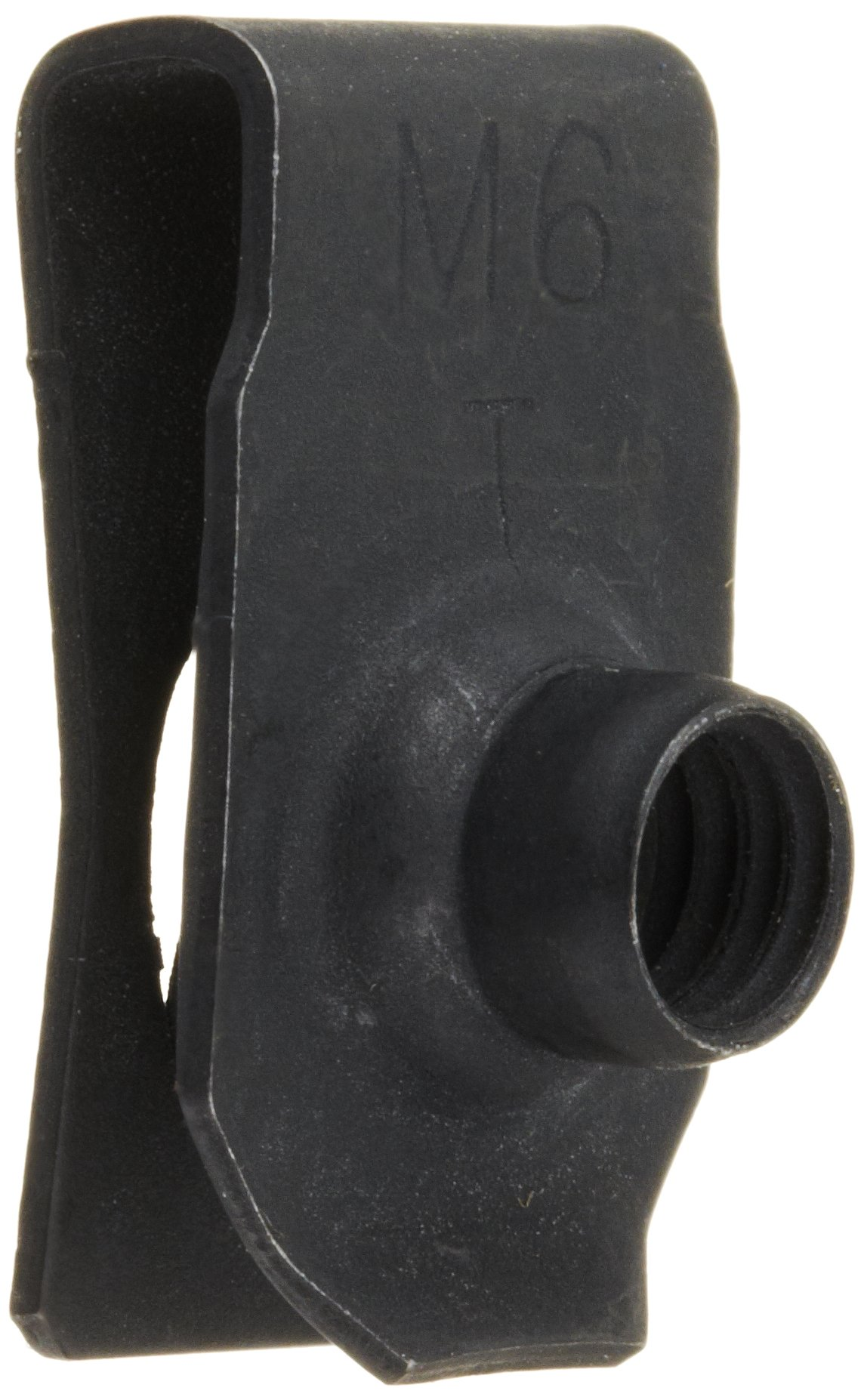 """Plain Finish Steel Tapped-Hole U-Style Clip-On Nut 3//8/""""-16 Thread Size For Of"""