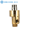 Flexible conduit connector dualflow rotary union rotating water swivel connection pipe swivel joints