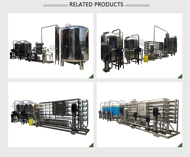 Drinking Water Treatment Commercial Water Softener System