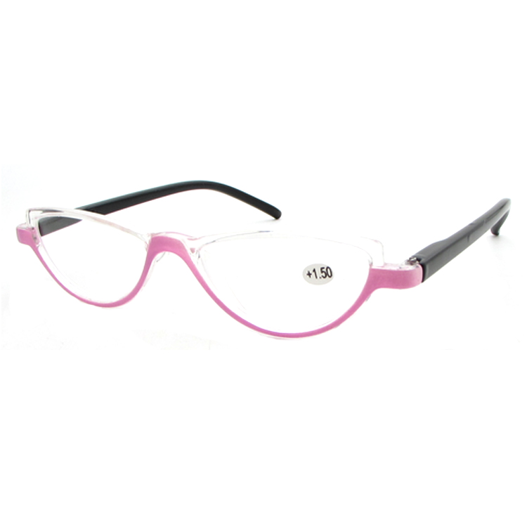 Semi-Circular Design Women Fashion Reading Glasses
