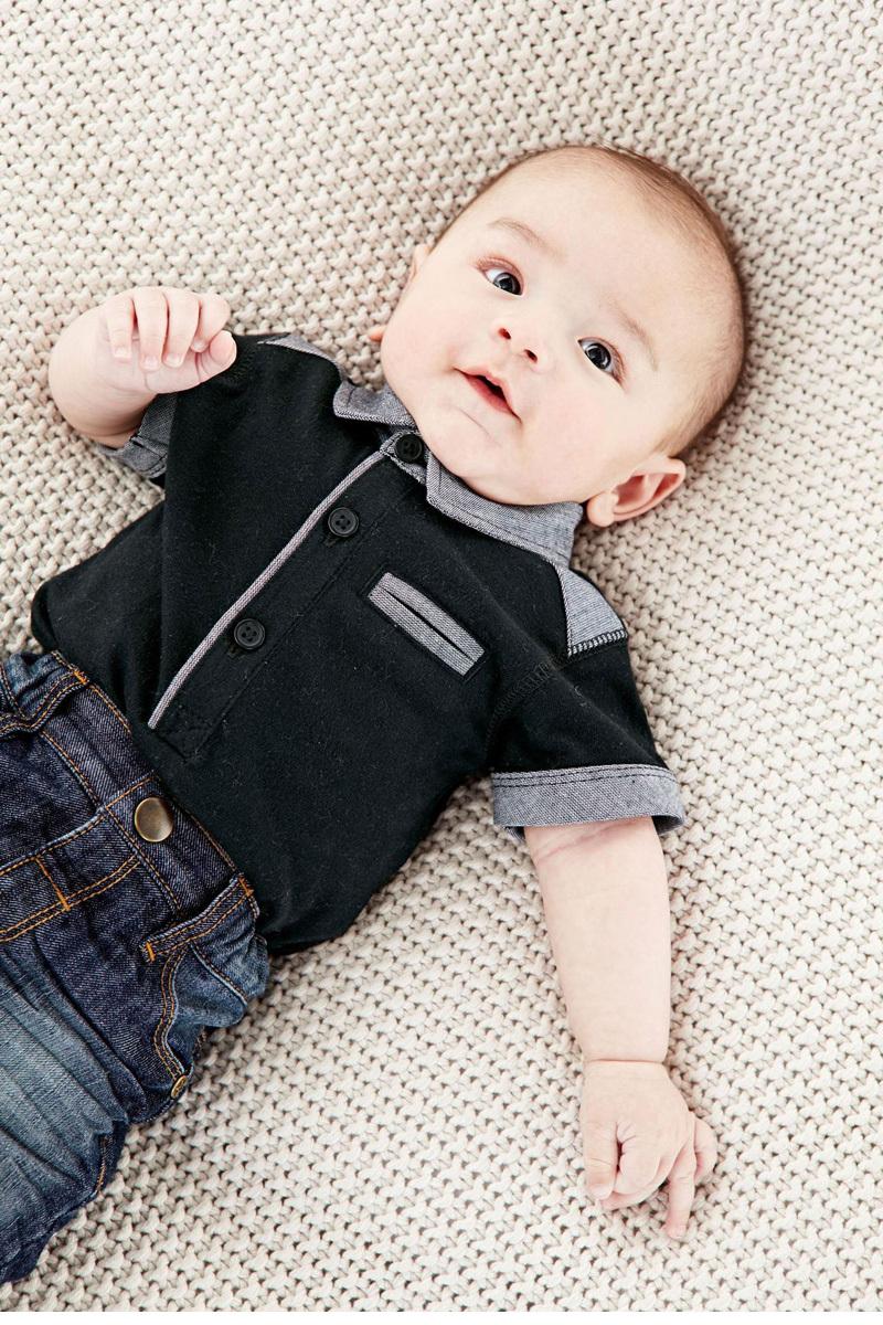 d4736d87a Atacado roupas de bebê menino romper Faculdade colete bebes infantil  Cavalheiro romper Criança macacão infantil roupas