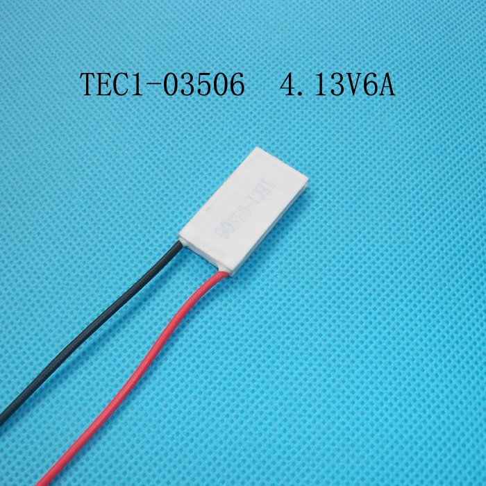 15*30mm maximum voltage 4.13V temperature difference semiconductor refrigeration TEC1-03506 TEC1-03510 thermoelectric cooler