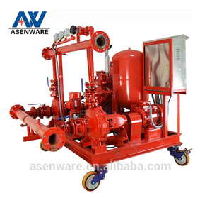 Manufacturer Water Fire Fighting Pump Set for Factory Warehouse