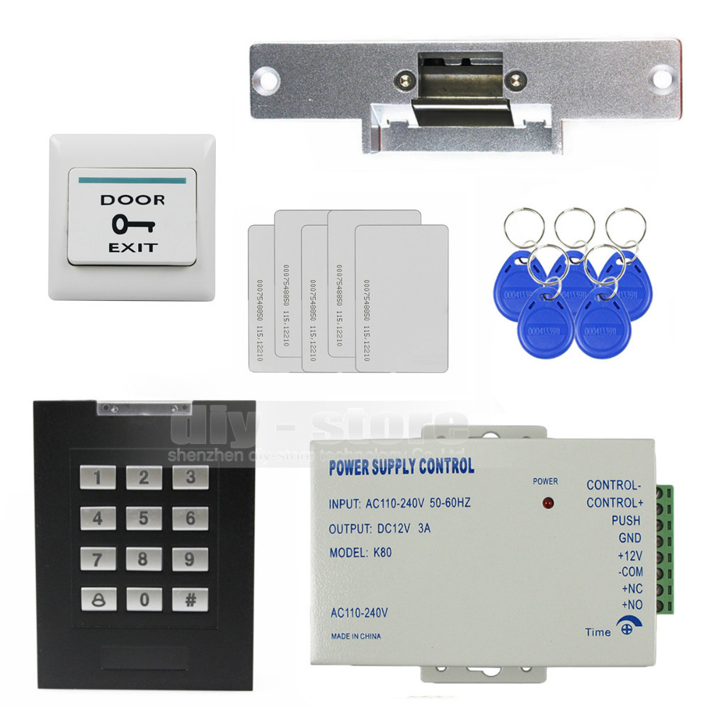 Diykit Rfid 125khz Keypad Access Control Security System