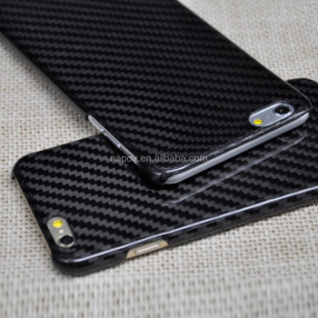 14b361368c5 Brillo 100% de fibra de carbono para iPhone 6 plus funda de fibra de carbono