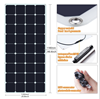 110w thin film solar panel with hight quality