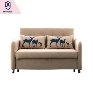 Sleeping futon folding single seat chair sofa cum bed for hospital