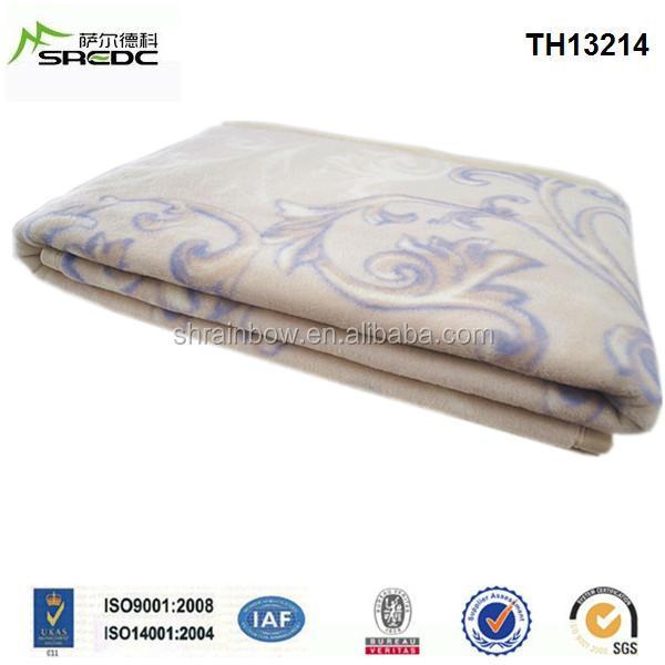 Blue Phoenix Raschel King Size Thick Australia Wool Double Bed ...