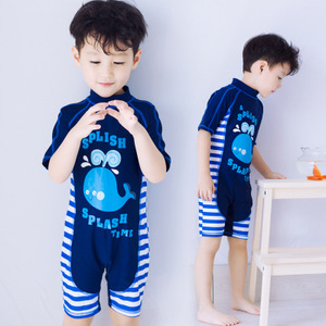 97b4a8f277 Child Swimwear One Piece Baby Boys Girls Swimsuits Kids Bathing Suits