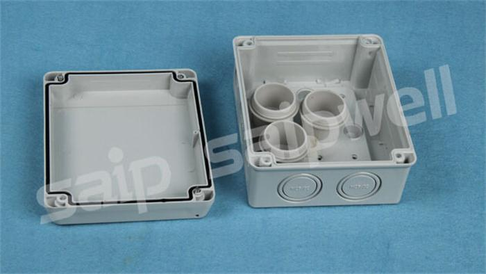 Saip Saipwell Waterproof Electrical Plastic Outdoor Cable Pv Junction Box