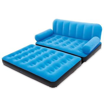 Giant Flocked Inflatable Air Bed Sofa