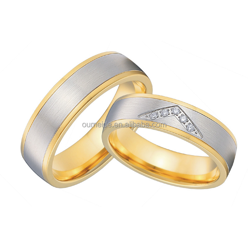New Model Wedding Ring Surgical Steel Wedding Ring Cnc Jewelry