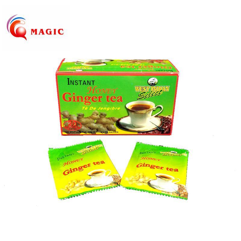 Chinese instant lemon ginger tea super instant ginger tea granules organic herbal tea - 4uTea | 4uTea.com