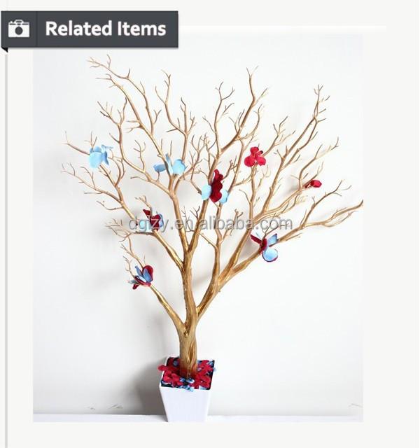 Centros de mesa seco ramas de rboles de alta calidad - Arboles secos decorados ...