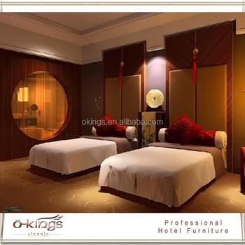 chinois style htel double lit chambre tte de lit - Lit Chinois