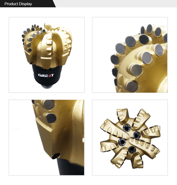 High Quality Factory Manufacturing Rock Drilling Pdc Drill Bit For Oil Drilling Tool
