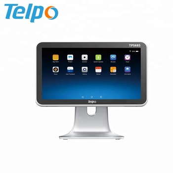 15 Inch POS System Dual Screen Android Cash Machine For retail shop