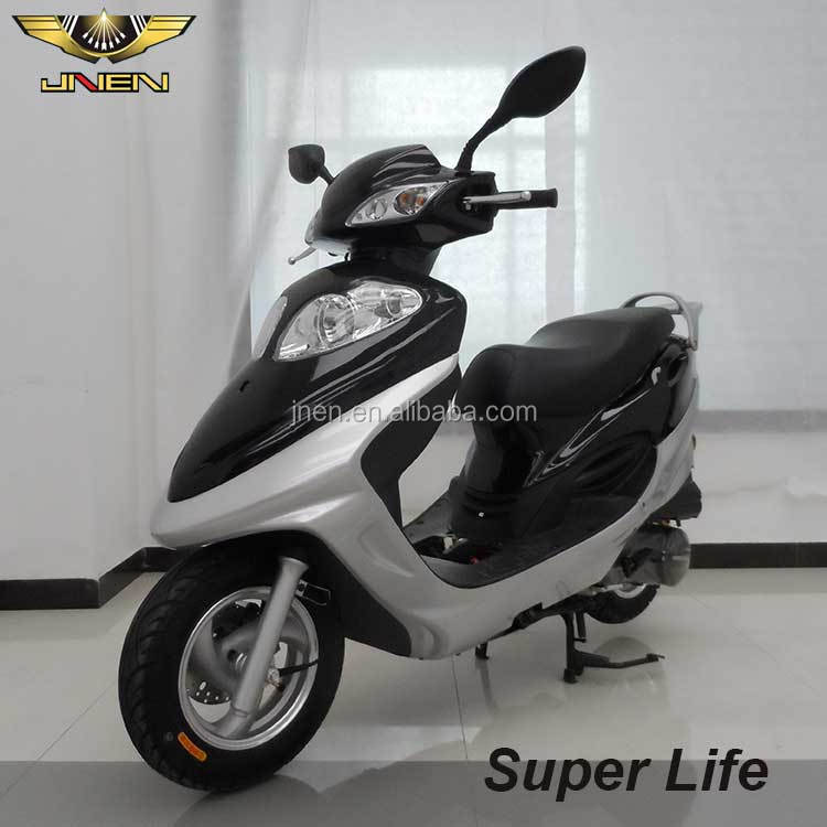 Super Life 125cc classic motorcycle eec motor scooter eec chinese quick step scooter 125 kick start remot with petrol engine