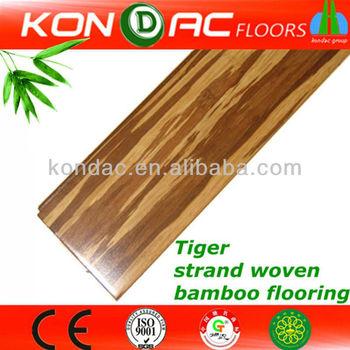 Zebra Bamboo Flooring Fibers Products Floating Wood Floors Easy Lock Strand Woven