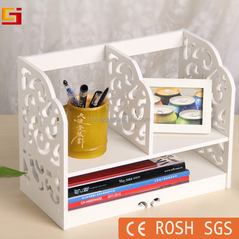 Office Furniture Decorative Diy Cheap Tabletop Bookcase