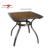 Modern Outdoor Balcony Bistro Furniture Glass Top Rattan Wicker Coffee Table