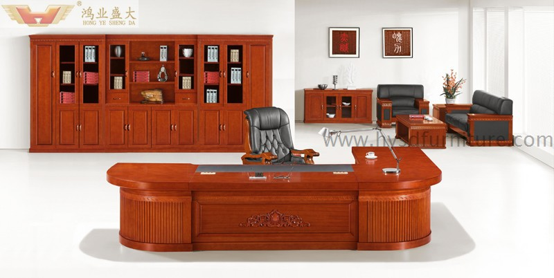 Lujo madera antigua presidencial muebles ejecutivo for Despachos lujosos