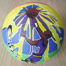 good quality official size 5 cheap rubber basketball