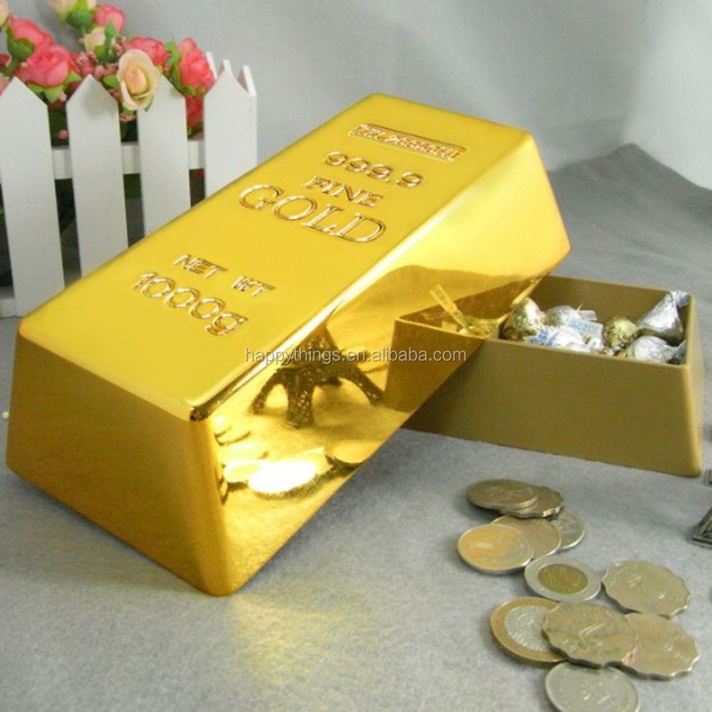 Factory Direct for Home Decor and Gift Souvenir Gold Bullion Storage Candy and Name card Box
