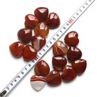 Hoght Quality Natural Carnelian Stone Crystal Heart
