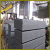 Flamed darker gray roadstone parking lot paving stone