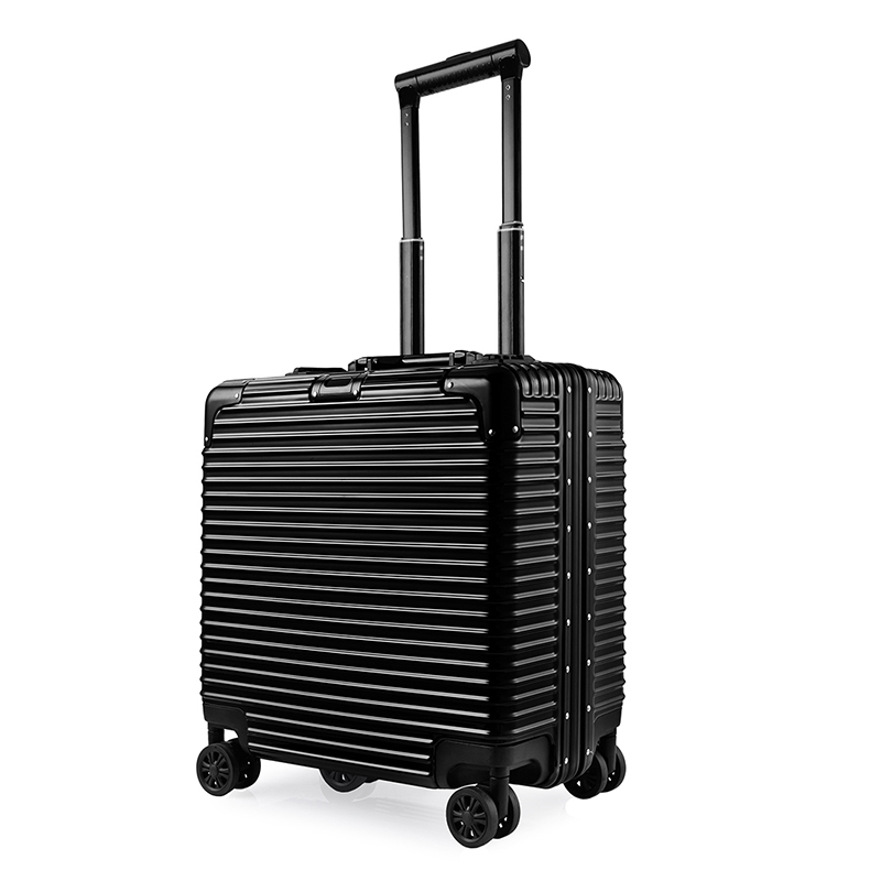 2018 new fashionable pilot trolley case , Business PC ABS pilot luggage case