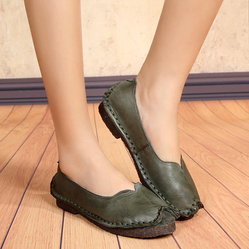 Women Leather Soled Shoes