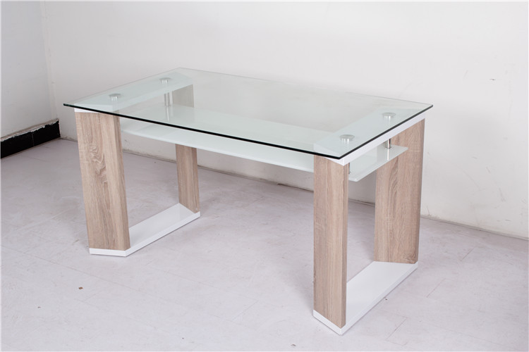 Uae home centre supplier wholesale wooden frame top glass