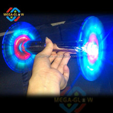 cool double head spinner,led spinning toy,spinning windmill