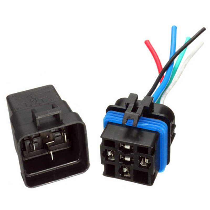 12v 30 40a Spdt Bsh Style Automotive Relays 5 Wire Socket