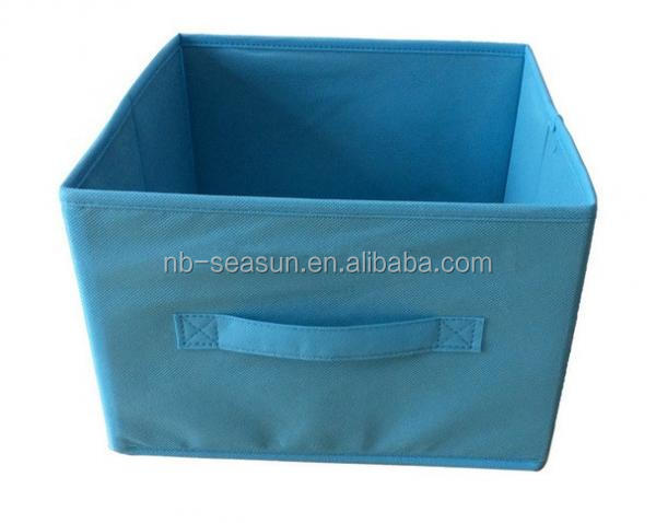 Cloth Drawer Organizer Non Woven Storage Box for Clothing , Books , Toys
