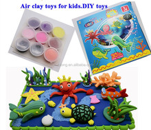 children educational handmade handcrafter toys modeling air dryclay magic super plasticine
