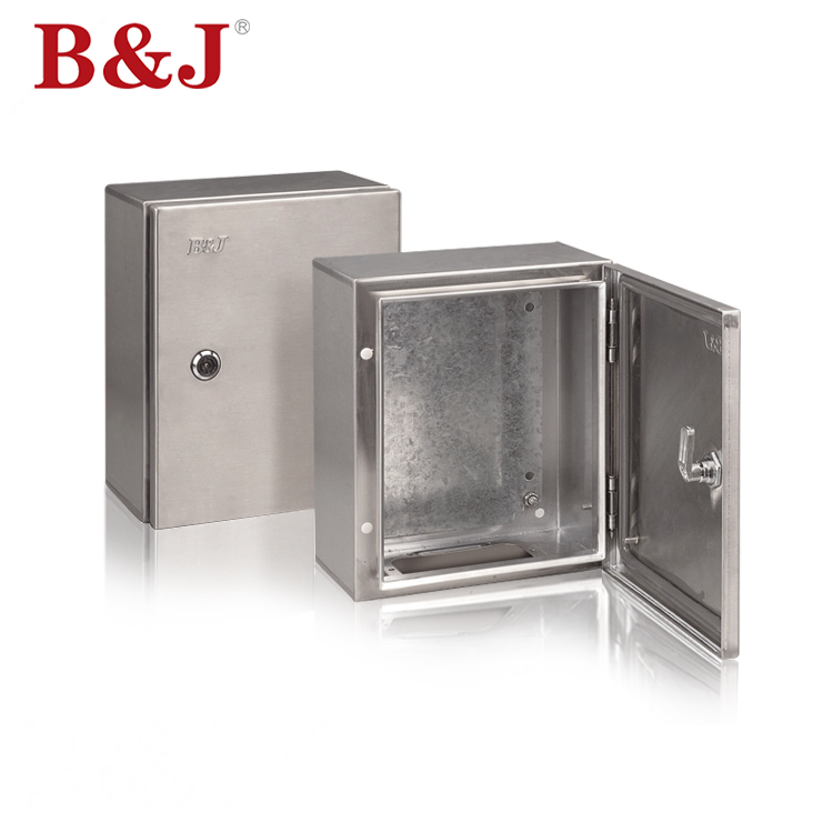 B&J Outdoor 2.0mm Thickness Stainless Steel Enclosure Electrical Panel on