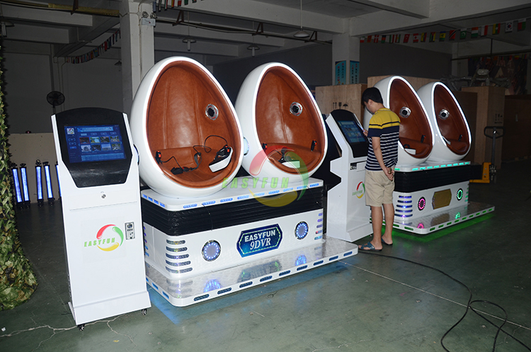 New Product Amusement Park 360 Degree Egg Immersive Virtual Reality Cinema