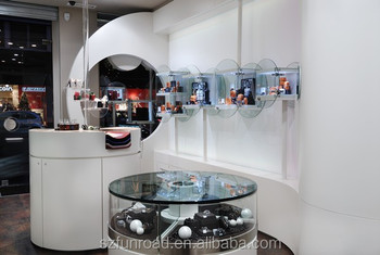 Wooden Jewelry Showcase In Stock With Led Lights For Jewelry Store ...