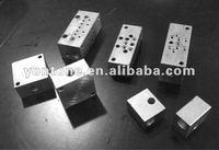 hydraulic valve Cover plates