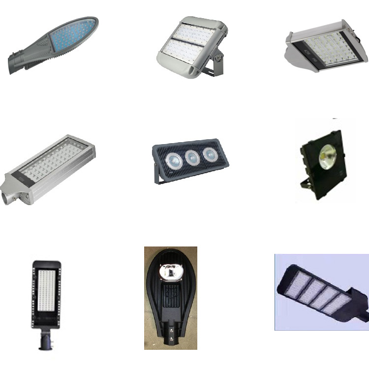 High Quality Die Casting Aluminum Alloy Empty Fitting Led Lamp Street Light Housing in China