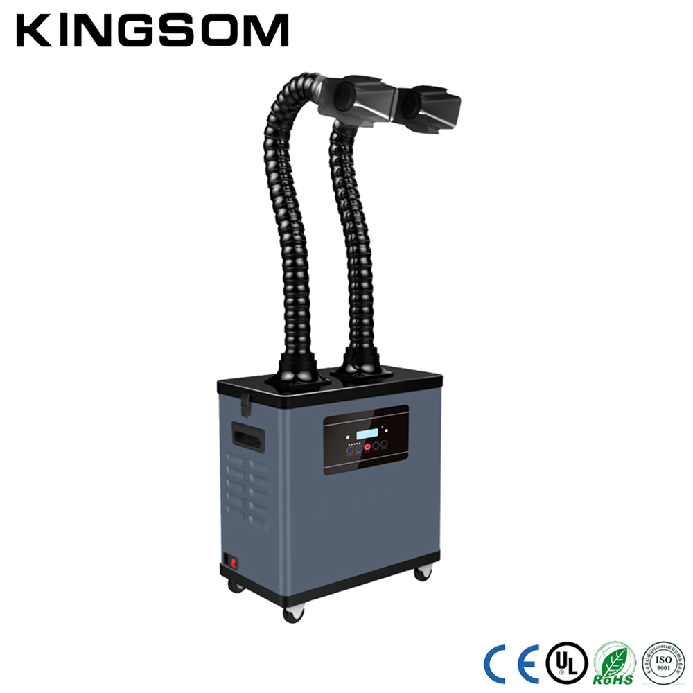 Manufacturer Wholesale Digital Display Portable Air Suction Fume Extractor for Hair Salon