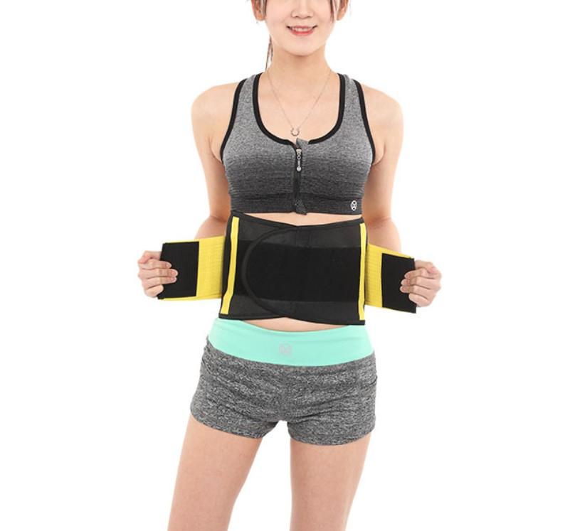 8e8afca426 Custom sports waist trainer exercise belt support waist trainer private  label waist sweat belt