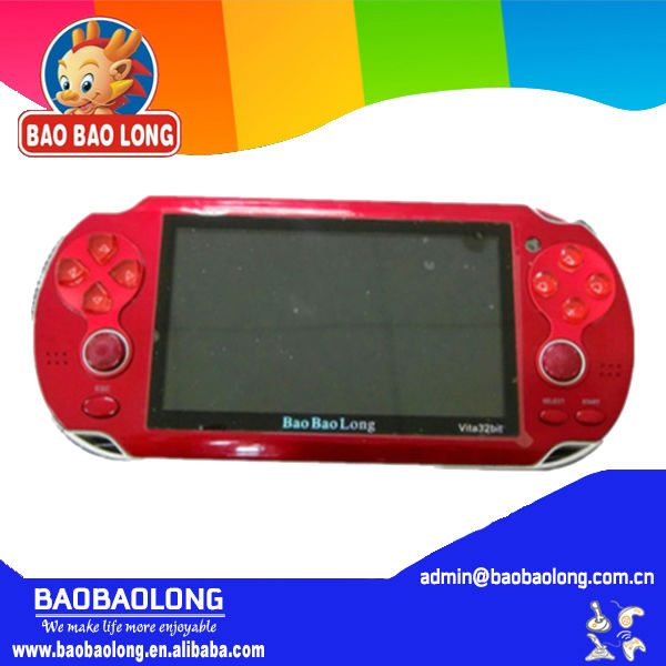 32 Bit 4G storage handheld mp4 game console