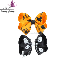 Halloween Flower Hair Clip Kids Bow Headdress Cartoon Head Barrettes Princess Hair Accessories Child hairpin