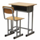 Home Single Kids Study Desk and Chair Set