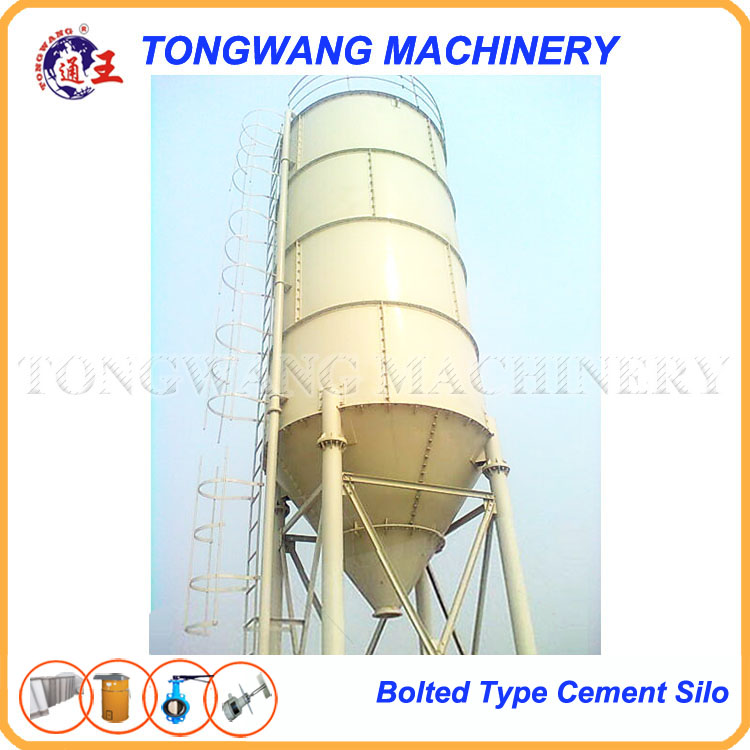 50 ton cement storage concrete silo